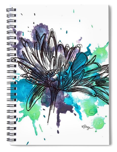Daisy Splashes Spiral Notebook