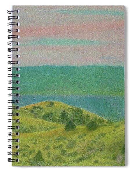 Dakota Sunset Dream Spiral Notebook