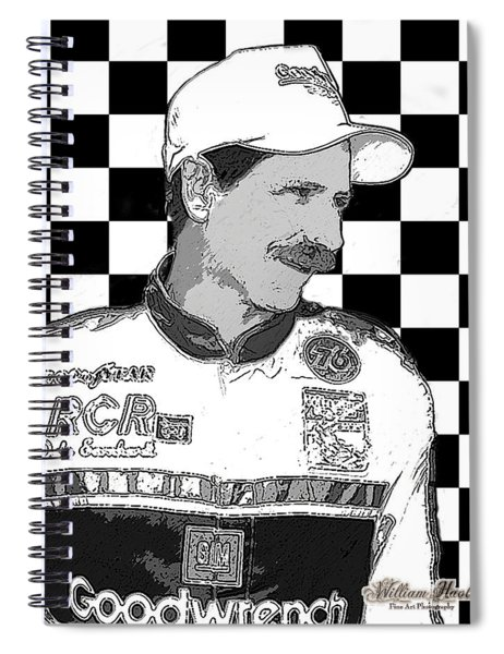 Dale Earnhardt Sr Spiral Notebook