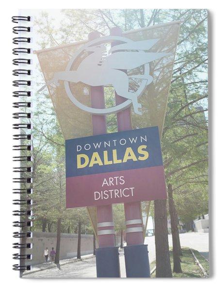 Dallas Arts District Spiral Notebook