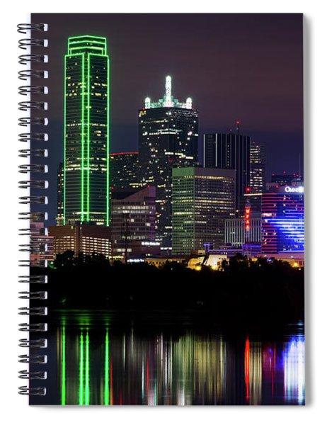 Dallas Cowboys Star Night Spiral Notebook