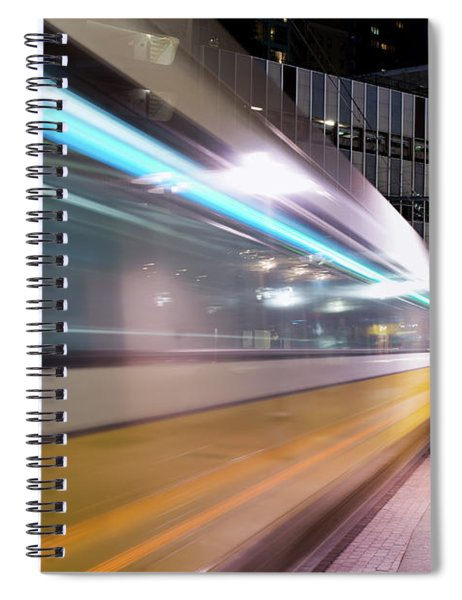 Dallas Dart Motion 012618 Spiral Notebook