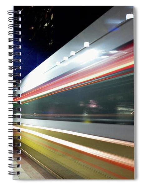 Dallas Dart Train 012518 Spiral Notebook