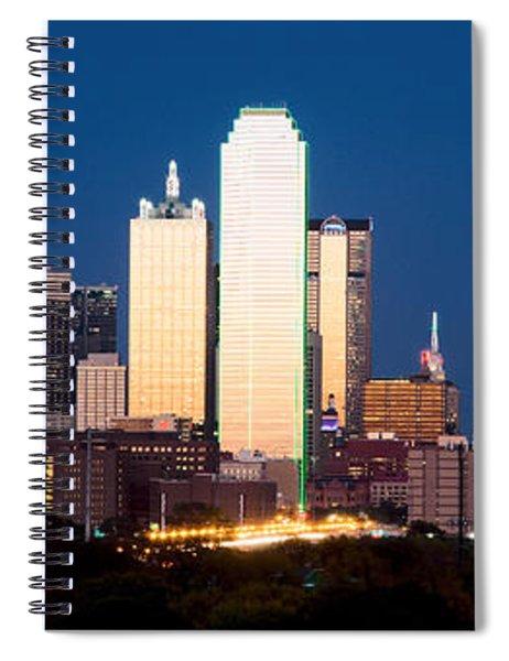Dallas Golden Pano Spiral Notebook