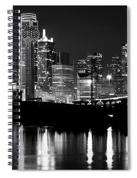 Dallas Nights Bw 6816 Spiral Notebook