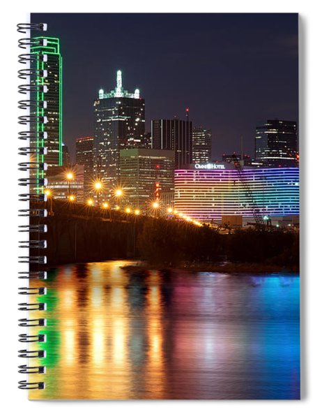 Dallas Reflections Spiral Notebook