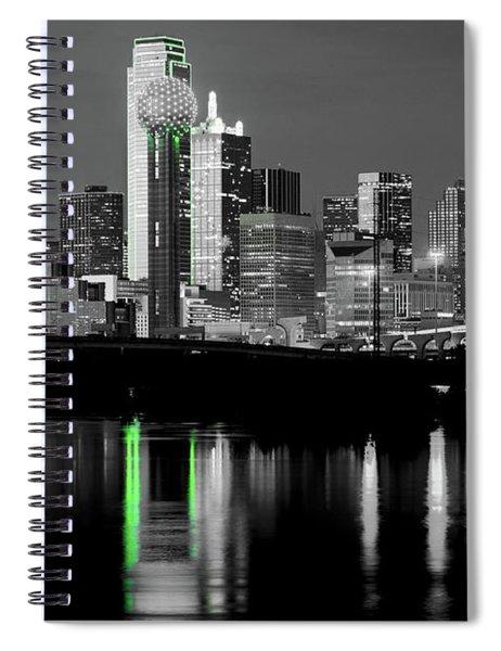 Dallas Skyline Gr91217 Spiral Notebook