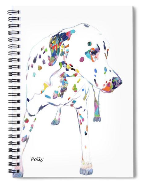 Dalmatian Spiral Notebook