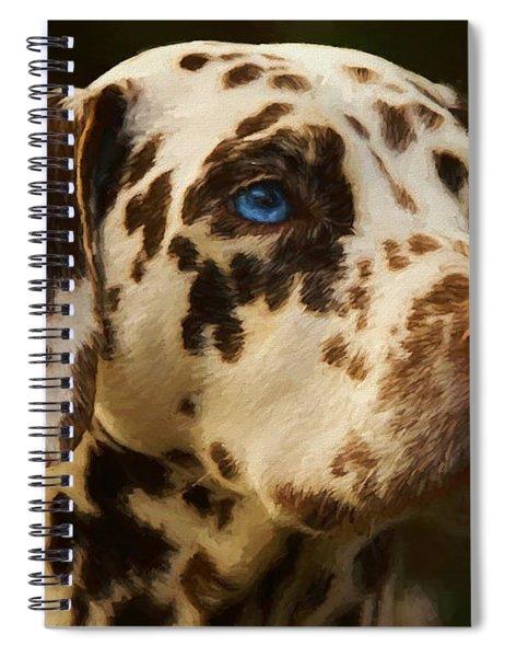 Dalmatian - Painting Spiral Notebook