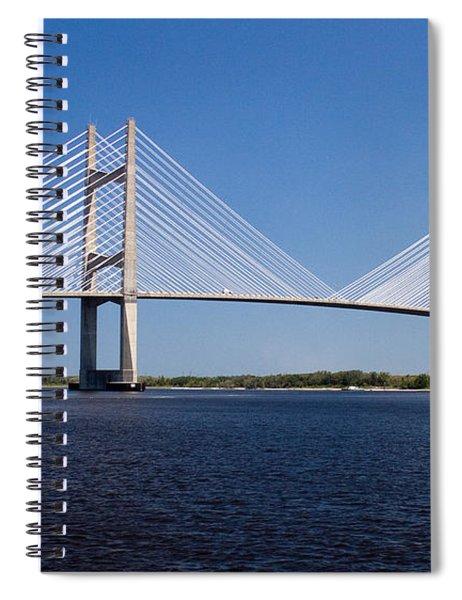 Dames Point Bridge Spiral Notebook