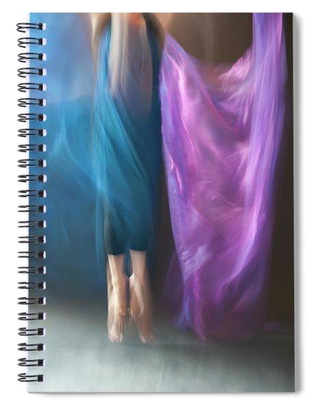 Jete Battu Spiral Notebook