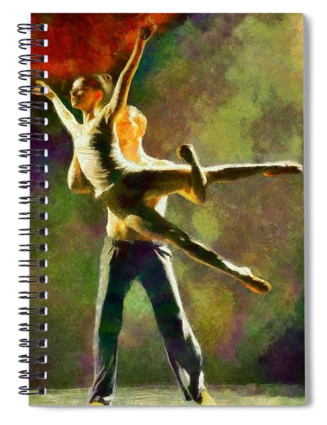 Dance 3 Spiral Notebook