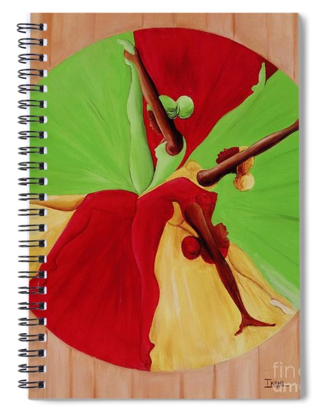 Dance Circle Spiral Notebook