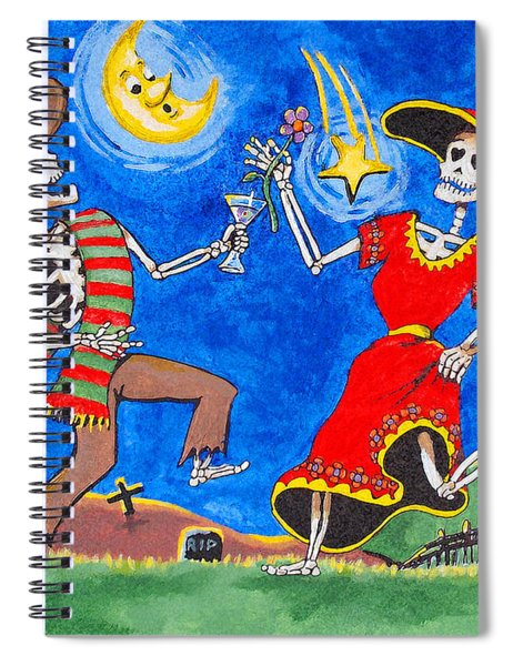 Dance Of The Dead Spiral Notebook