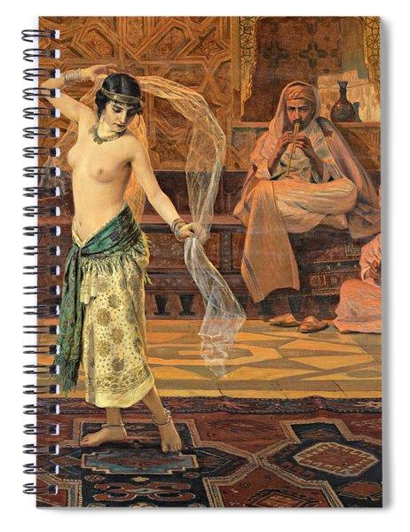 Dance Of The Seven Veils Spiral Notebook