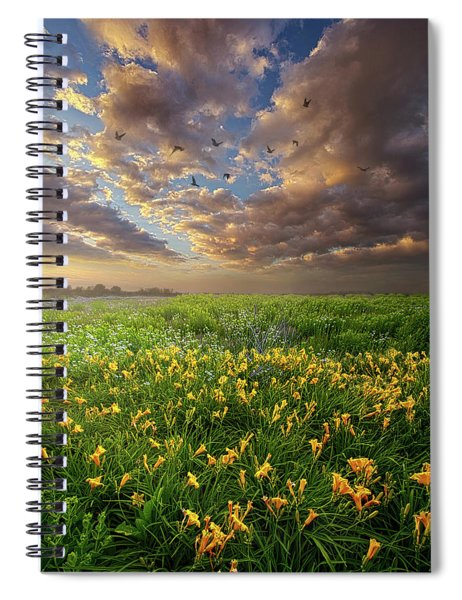 Dance On The West Wind Spiral Notebook