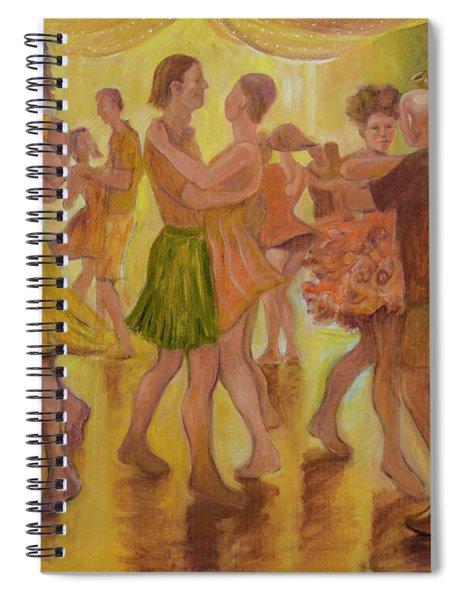 Dance Trance Spiral Notebook