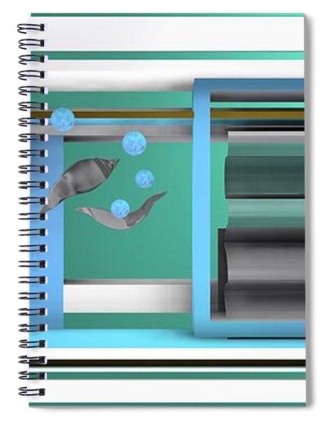 Dance With Balls Spiral Notebook