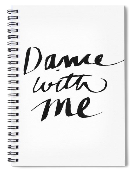 Dance With Me- Art By Linda Woods Spiral Notebook