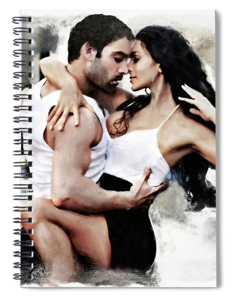 Dance With Passion Spiral Notebook
