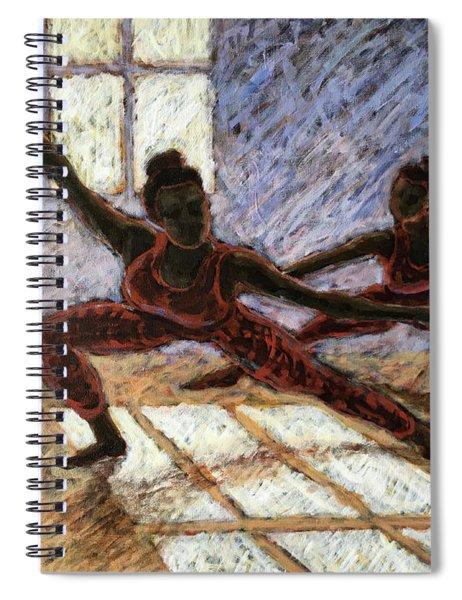 Dancers Near A Window Spiral Notebook