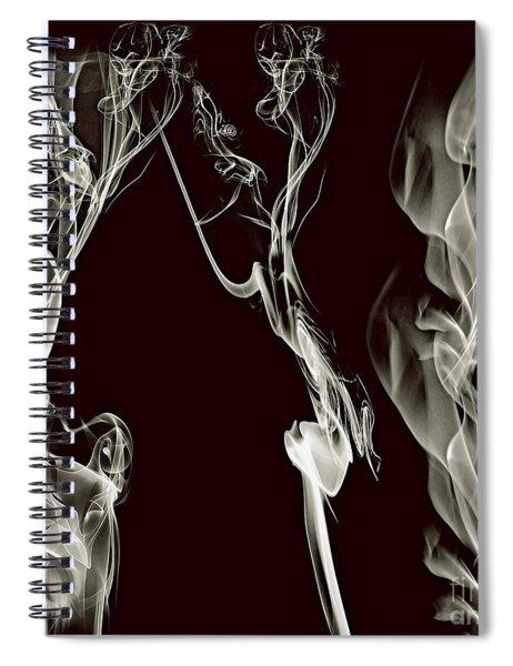 Dancing Apparitions Spiral Notebook