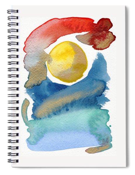 Dancing Spiral Notebook