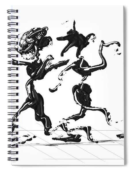 Dancing Couple 1 Spiral Notebook