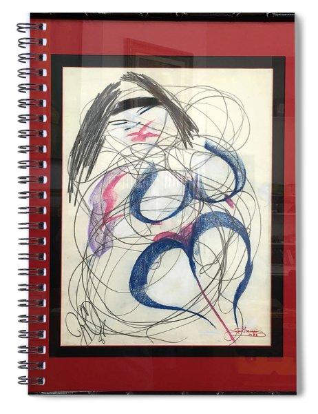 Dancing Emme Spiral Notebook