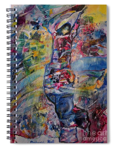 Dancing In The Glory Spiral Notebook