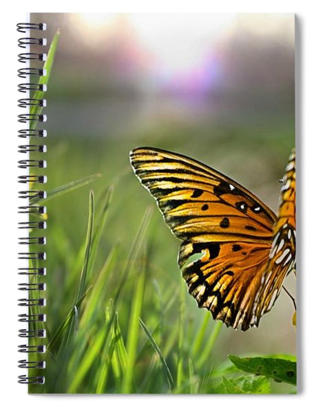 Dancing In The Light Spiral Notebook