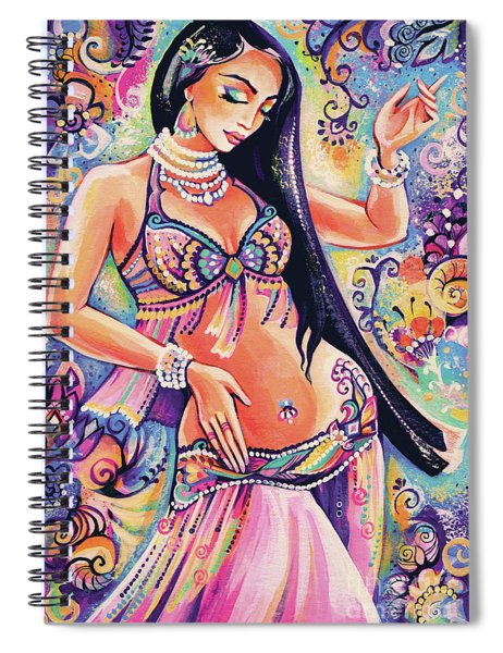 Dancing In The Mystery Of Shahrazad Spiral Notebook