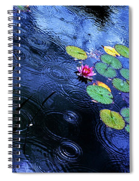 Dancing In The Rain Spiral Notebook
