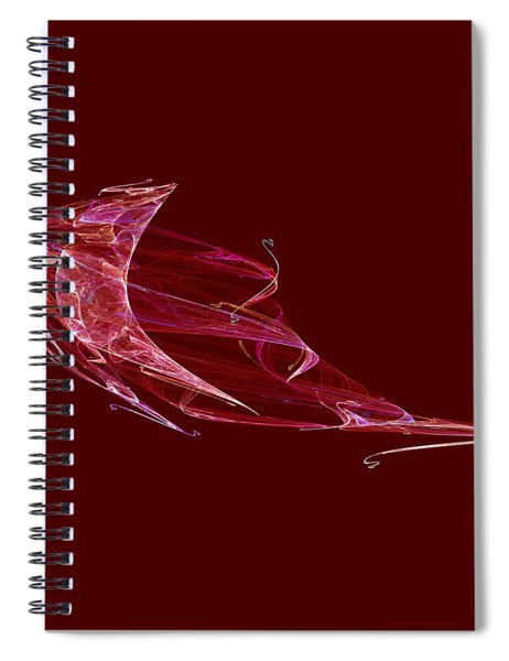 Dancing In The Rain Spiral Notebook