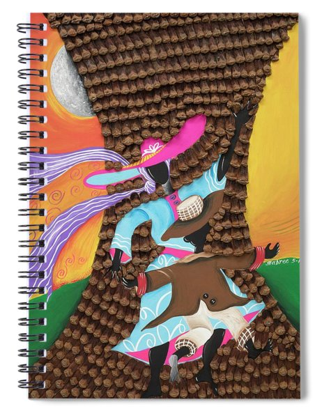Dancing In The Son's Light Spiral Notebook