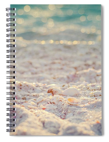 Dancing Light Spiral Notebook