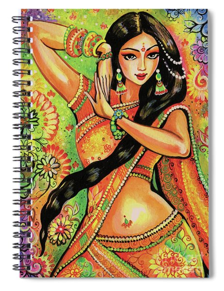 Dancing Nithya Spiral Notebook