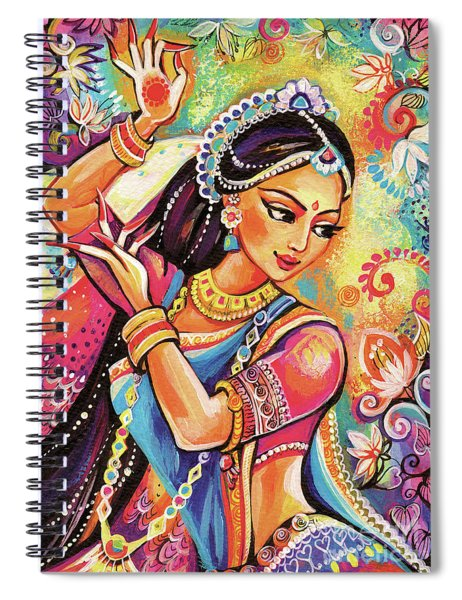 Dancing Of The Phoenix Spiral Notebook