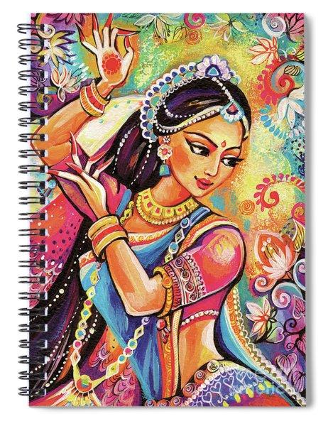 Dancing Of The Phoenix Spiral Notebook