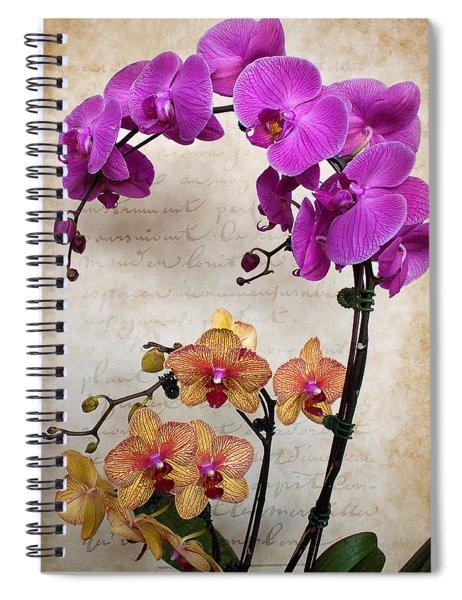 Dancing Orchids Spiral Notebook