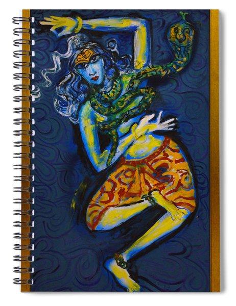 Dancing Shiva Spiral Notebook