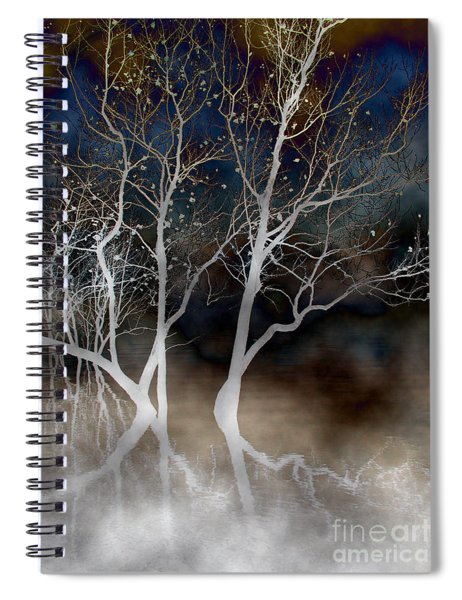 Dancing Tree Altered Spiral Notebook