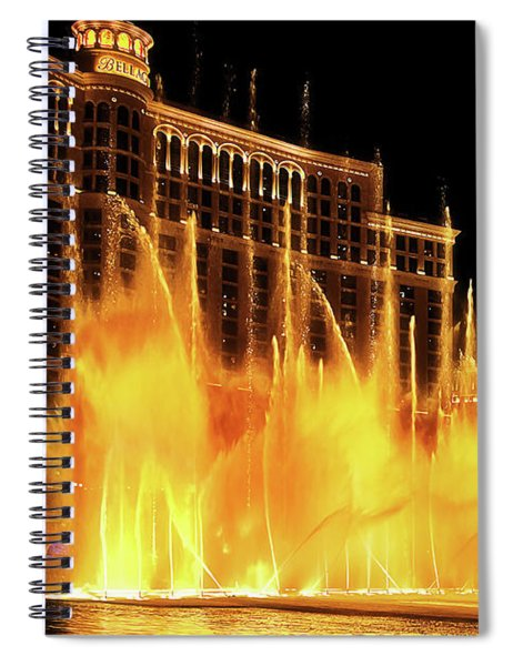 Dancing Water Spiral Notebook