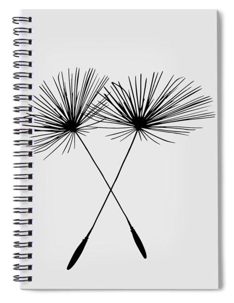 Dandelion Duo  Spiral Notebook