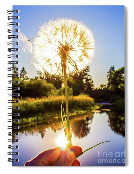 Dandy Lion Spiral Notebook