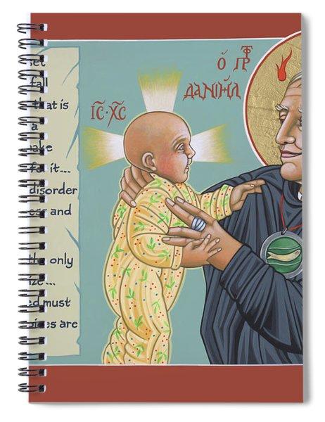 Holy Prophet Daniel Berrigan 291  Spiral Notebook