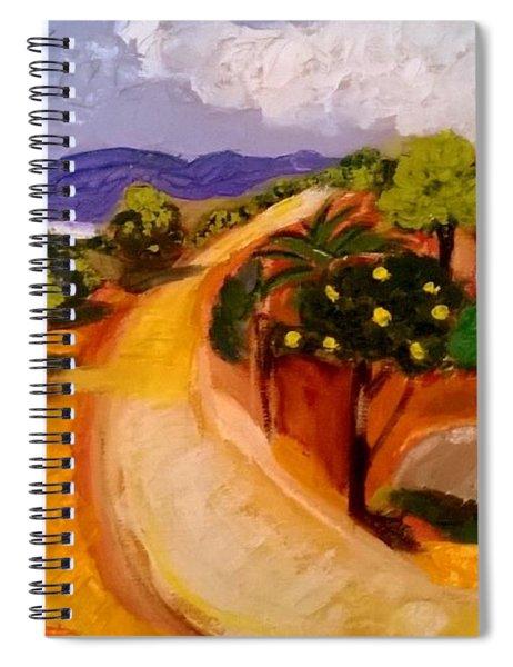 Dar Manchar Spiral Notebook