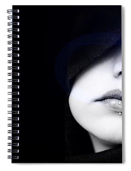Dark Angel Spiral Notebook