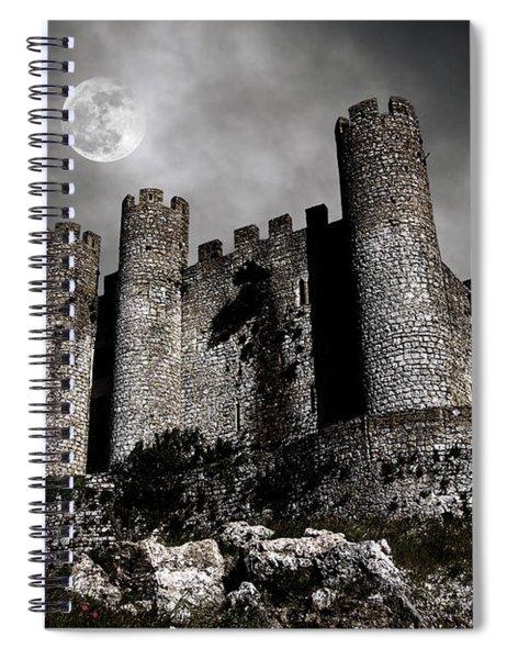 Dark Castle Spiral Notebook