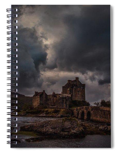 Dark Clouds #h2 Spiral Notebook